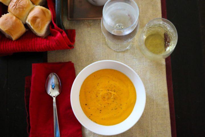 Food Exploring :: Creamy CarrotSoup