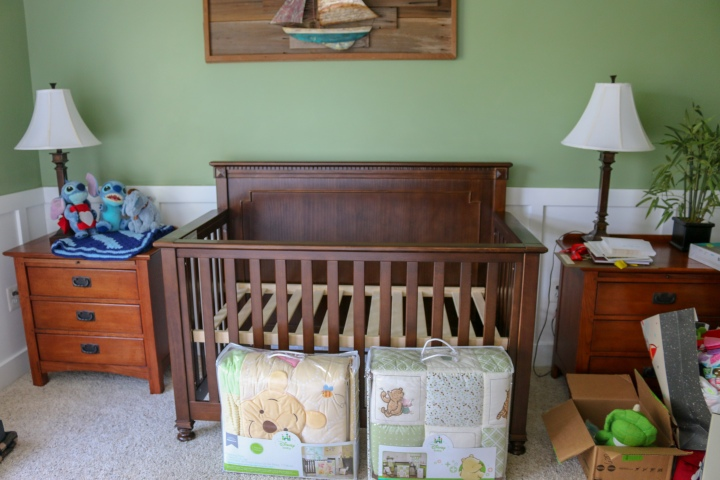 Guest Room to Nursery :: Week 1