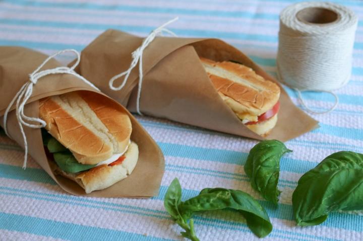 Fresh Caprese Sandwiches
