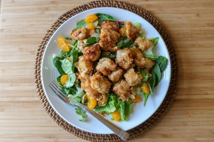 Mandarin Orange ChickenSalad