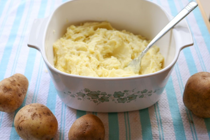 Garlic Brown Butter Mashed Potatoes