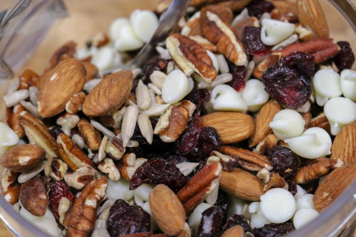 Cranberry White Chocolate TrailMix