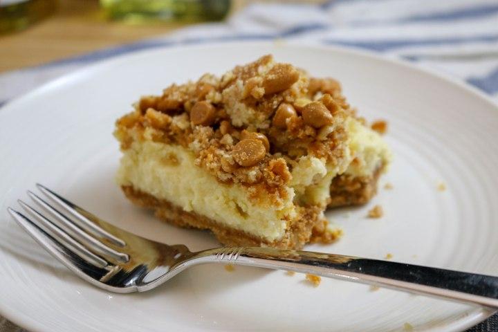 Butterscotch Maple CheesecakeBars