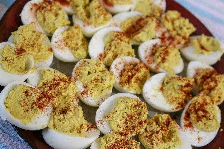 Mom's Deviled Eggs-9423